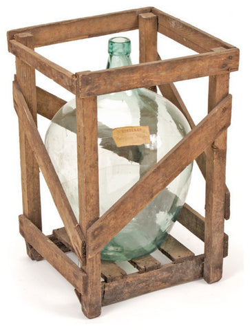 Crated Vineyard Demijohn