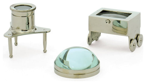 Jewelers Magnifiers, Set of 3