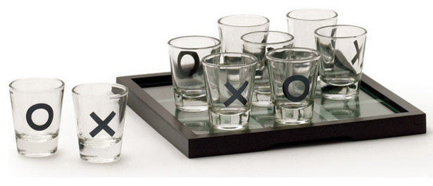 Shots Across Tic Tac Toe
