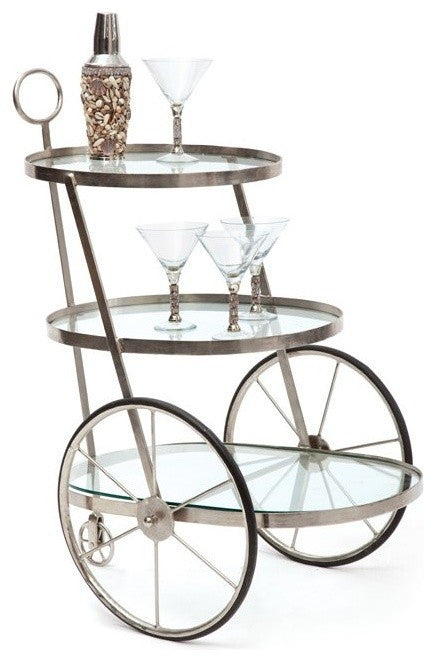 Miami Bar-Tea Cart