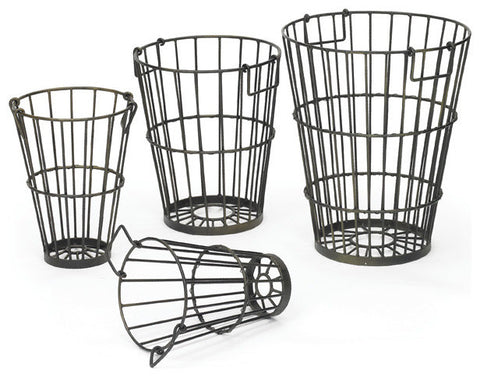 Set of Four Croppers Baskets