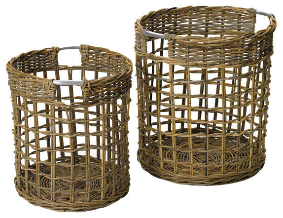 Set of Two Contents Baskets