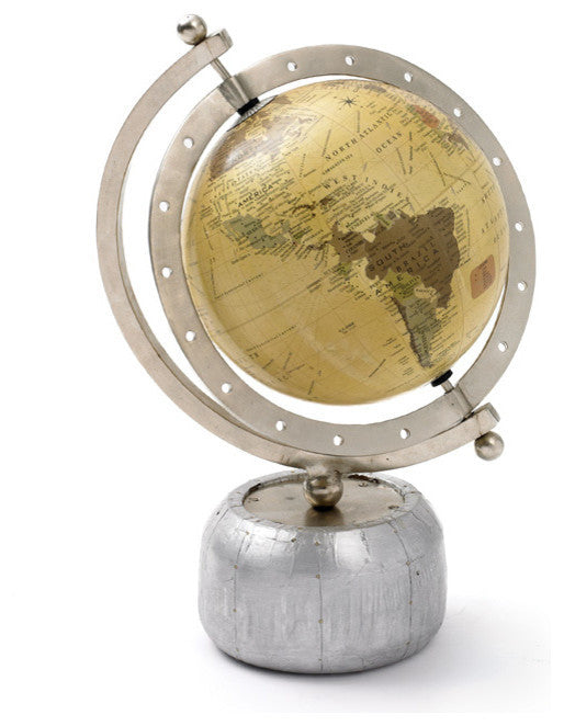 Aviator Desk Globe