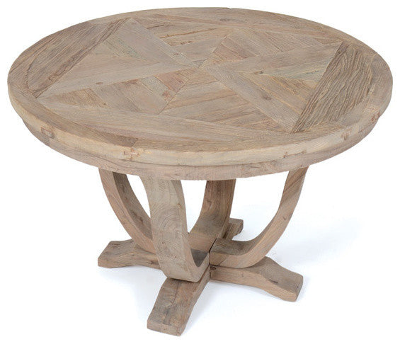 Go Home Parquet Round Table