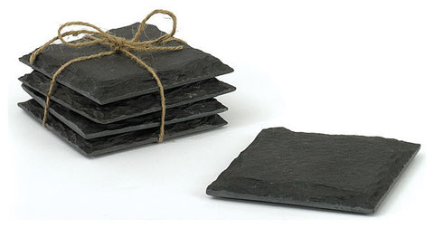 Set of Four Slate Coasters