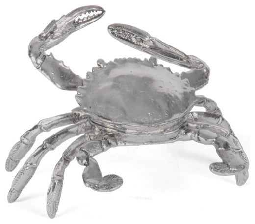 Crabby, Brushed Nickel