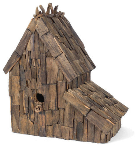 Driftwood Bird Mansion