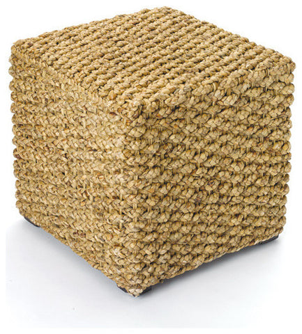 Go Home Woven Square Stool