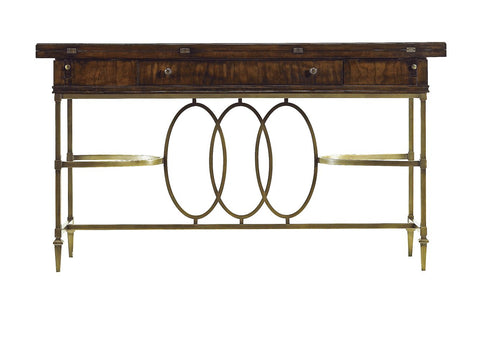 Avalon Heights Neo Deco Flip Top Console