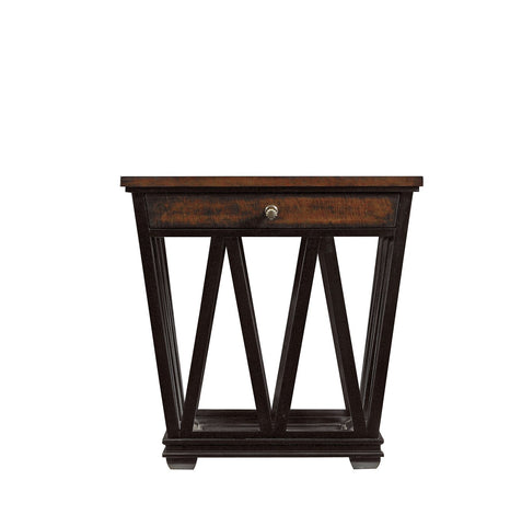 Avalon Heights Empire Drawer End Table