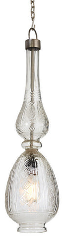 Go Home Lafayette Glass Pendant Lamp