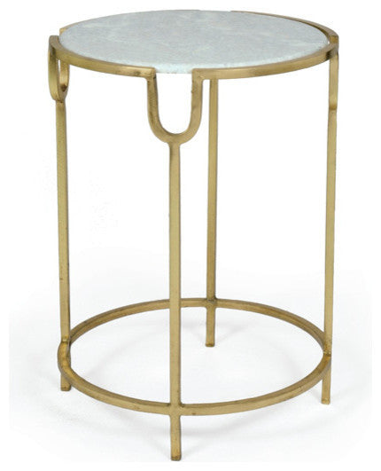 Darling Iron Marble Top Table