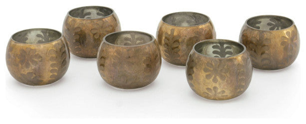 Set of Six Collins Votives
