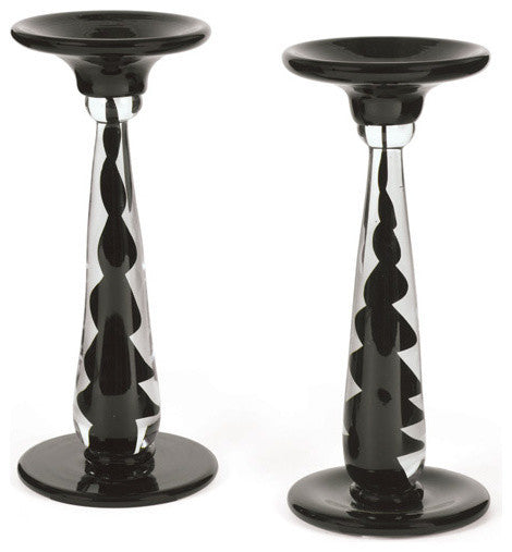 Pair Of Whitestone Candle Sticks