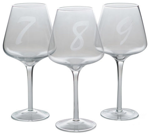 Set Of 12 Laurent Wine Glasses