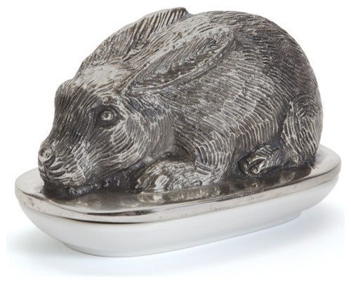 Rabbit Butter Dish