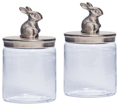 Set Of Two Cadburry Jars