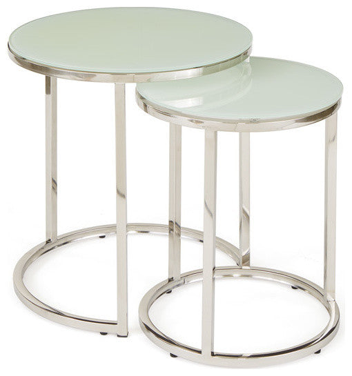 Set of Two Hopkins Nesting Tables