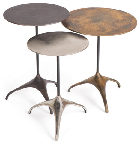 Set of Three Leoni Nesting Tables
