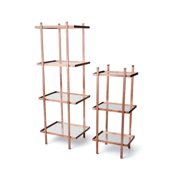 Set of Two Donley Shelving Set