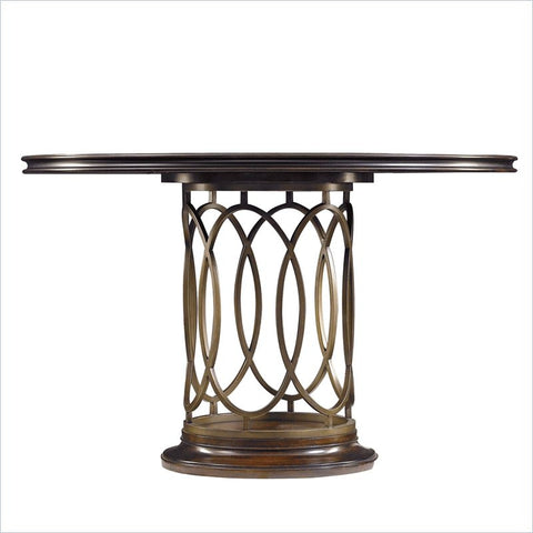 Avalon Heights Neo Deco Pedestal Table