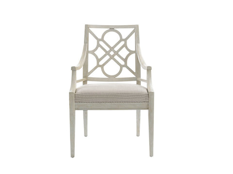 Fairlane-Wood Arm Chair, Luna