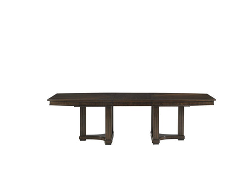 Crestaire-Lola Double Pedestal Table