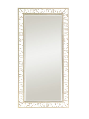 Crestaire-Palm Canyon Floor Mirror, Argent