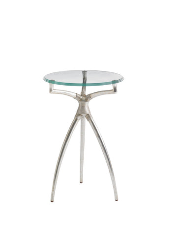 Crestaire-Hovely Martini Table, Argent