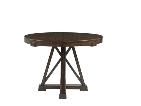 Newel-Round Pedestal Table, Date