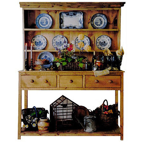 5' Hutch with Shelf