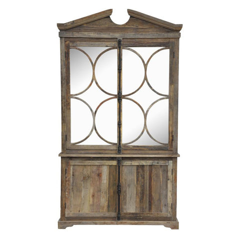 Barrel Ring Mirror Wardrobe
