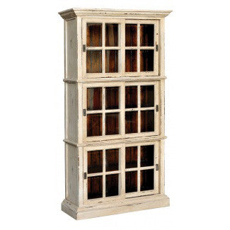 Country Chic Column Bookcase