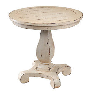 Country Chic Lamp Table
