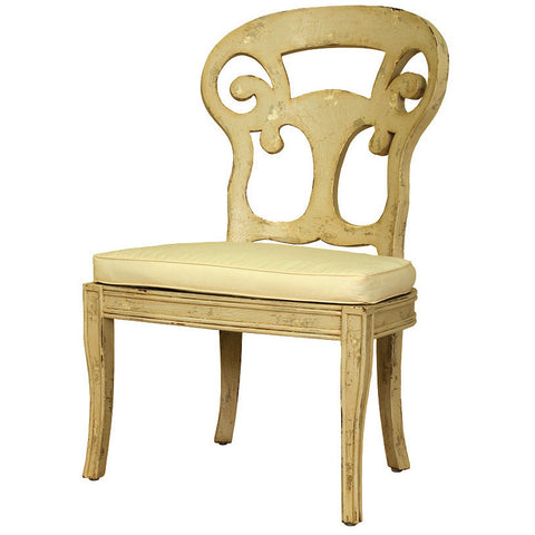 Country European Verona Club Side Chair