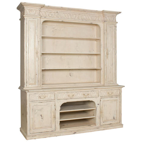 Country French Entertainment Cupboard