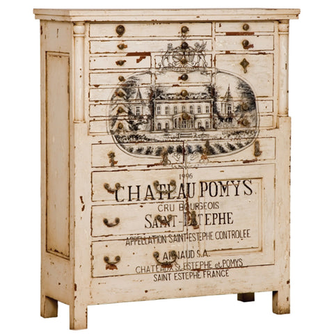 Country French Printer's Chest