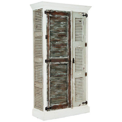 Country chic Shutter Cabinet