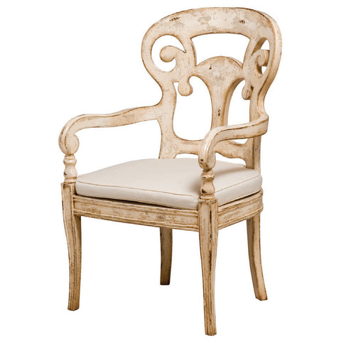 European Country Chic Verona Club Arm Chair