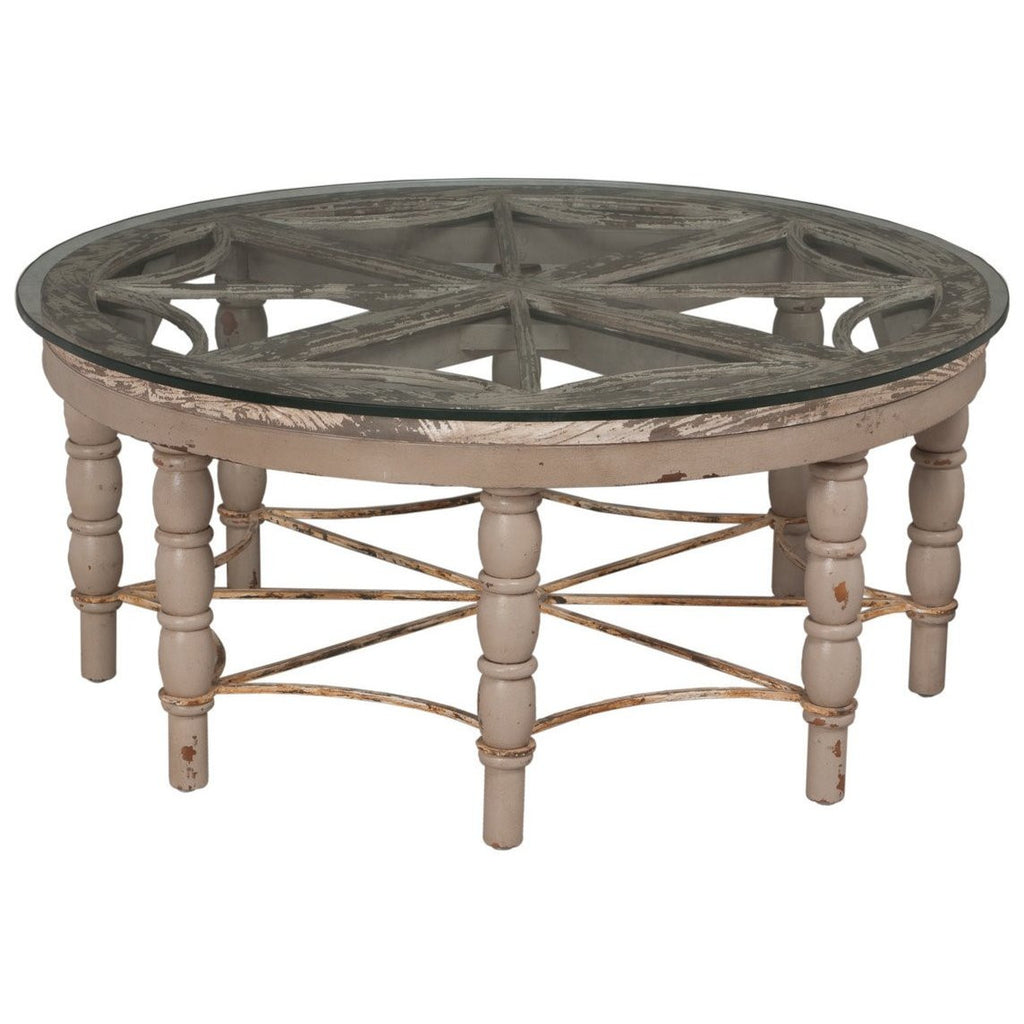 European Round Cocktail Table