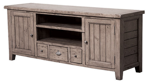 Solid Reclaimed Wood LCD TV Stand