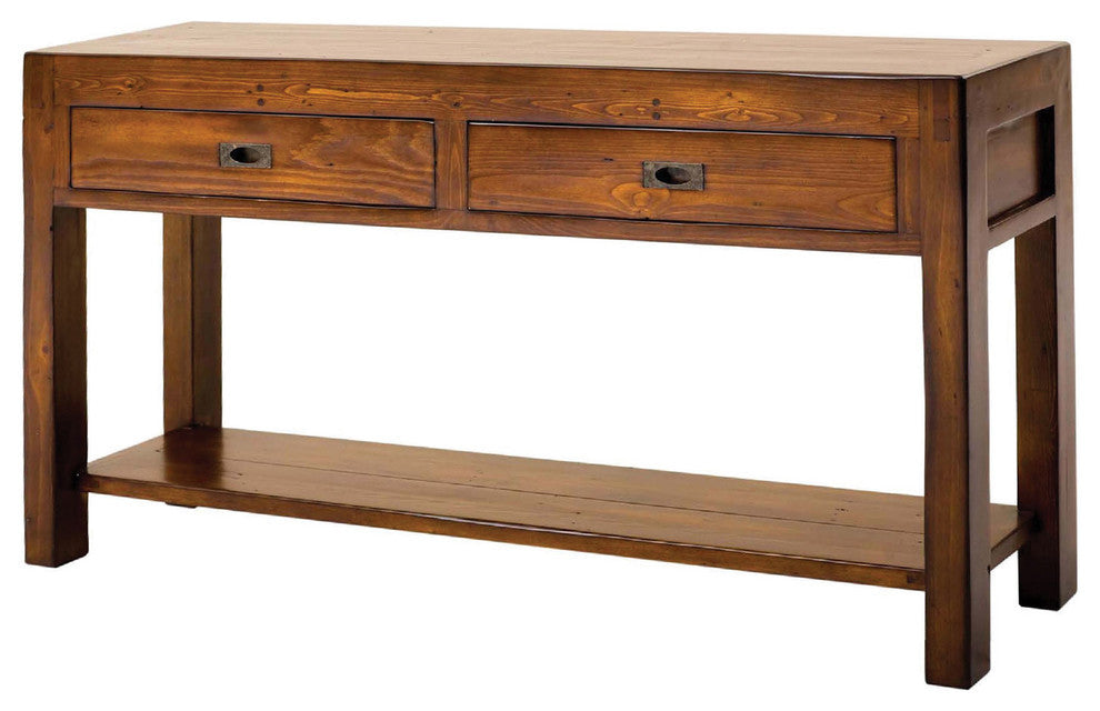 Rectangular Sofa Table in Solid Eco-Friendly Wood