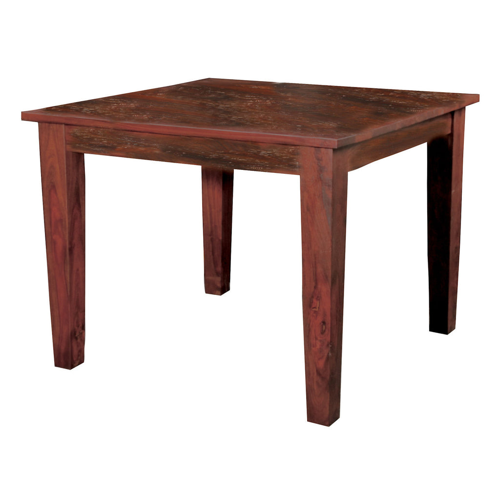 "Sheesham Solid Wood Square Dining Table 40"", 47"" or 58"""