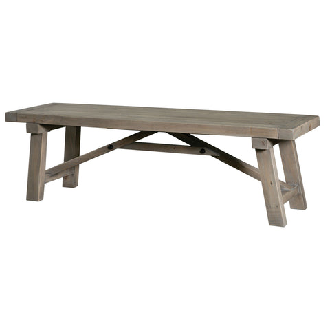 58-Inch or 73-Inch Dining Bench in Sun-Dried Wheat