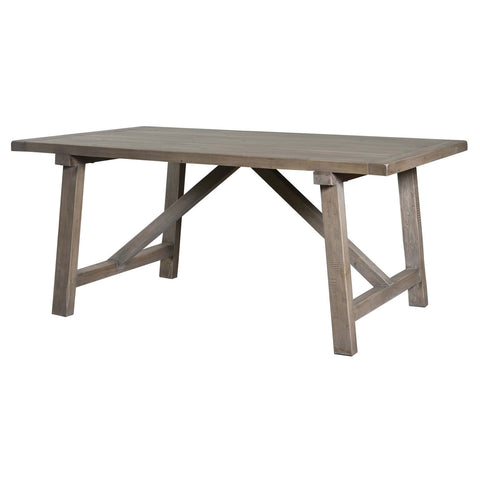 78-Inch or 93 Inch Rectangular Dining Table in Solid Wood