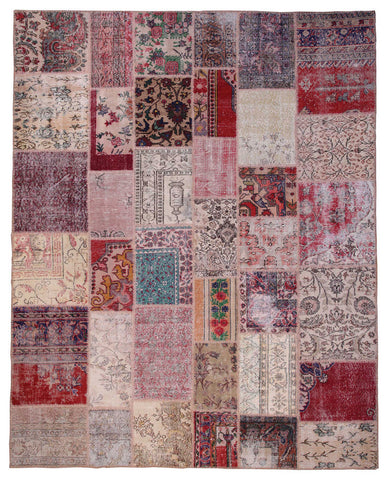 Raw Patchwork Rug 5'x8'
