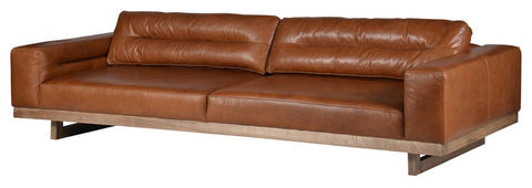American Aristocracy Inspired Nut Rider Sofa