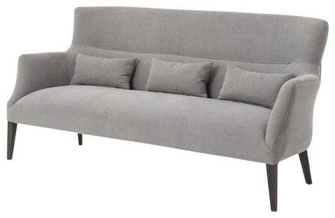 Alluring Dark Linen Barclay Sofa