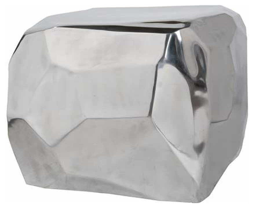 Silver Shining Diamond Cube Table