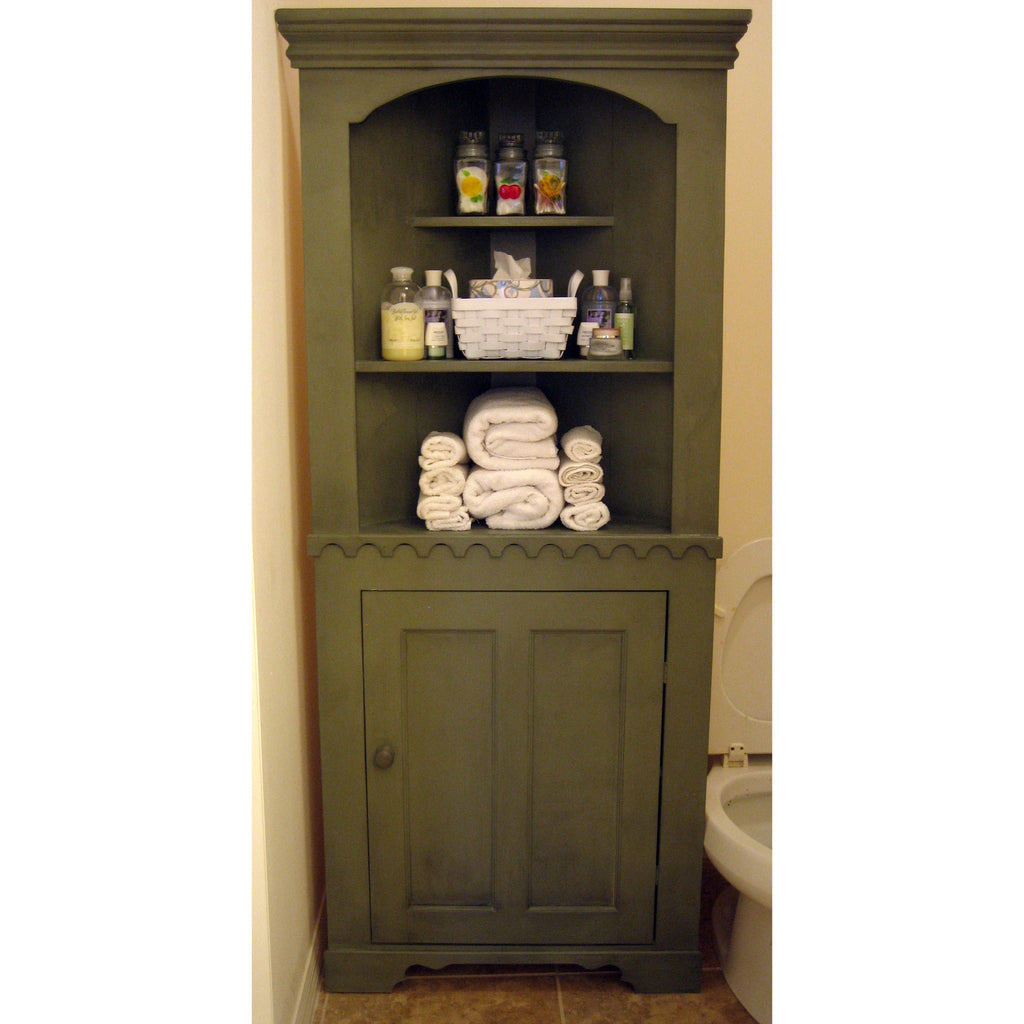 French Country Corner Storage